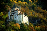 Castel Trostburg, Castel Forte, near the village of Waidbruck, Trentino, Italy