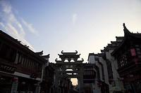 China, Anhui, Tunxi Ancient Street