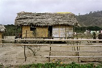 architecture, Ecuador, hut, Canoa, South America, exterior view, house, SOAM,