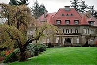 The PITTOCK MANSION in PORTLAND was built by Georgiana & Henry Pittock in 1914 _ OREGON