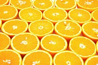 Orange slices, close_up full frame
