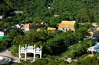 Overview of Po Lin Monastery on the Outlying Islands, Hong Kong