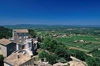 Schloß Le Castelet in Menerbes, Frankreich, Provence _ Castle Le Castelet in Menerbes, France, Provence
