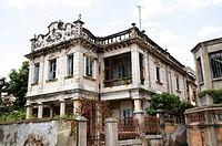 A building in Jincheng Town, Kinmen County, Taiwan