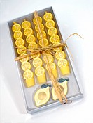 Yellow Lemon Candles