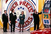 Fernsehshow, Der Preis ist heiß, BRD 1989 _ 1997, RTL, Moderator: Harry Wijnvoord, PR Foto zur 2. Prominenten Sendung der Show zugunsten der Kinderkre...