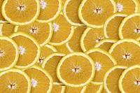 Orangenscheiben Orange