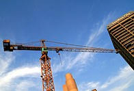 Construction Site in Sandton, Johannesburg, Gauteng, South Africa