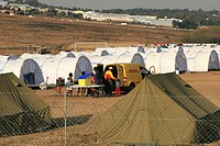 2008 Xenophobia, Refugees Camp in Midrand, Gauteng, South Africa