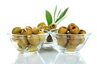 Schale mit Oliven