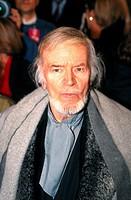 Fischer, O.W. Otto Wilhelm 1.4.1915 _ 29.01.2004, öster. Schauspieler, Aufnahme zum 75. Jubliläum von Bavaria Film in München, Brustbild, 1994, 1990er...