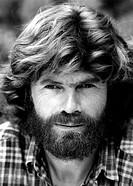 Messner, Reinhold * 17.9.1944, ital. Sportler Bergsteiger, Portrait, 1988, Vollbart, Bart, Extrembergsteiger, Extremsport, Sport,