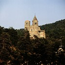 SG A, Architektur, Kirchen und Klöster, Kirche Saint_ Nectaire_le_Haut, Auvergne, Frankreich auvergnatisch_romanisch, 11./12. Jh., Puy_de_Dome
