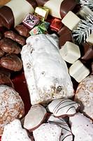 Teller mit Naschereien Xmas pastry