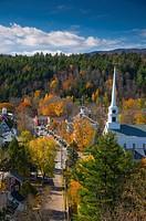 USA, Vermont, Stowe