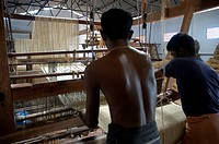 COIR MAT PROCESSING IN FACTORY ALAPUZHA DISTRICT