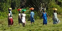 Afrika _ Uganda _ Junge Frauen aus Uganda