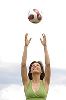 Woman volley ball