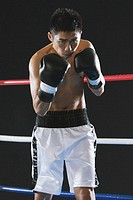 Japanese boxer ready to fight (thumbnail)