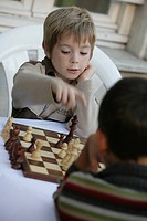 Premature child chess