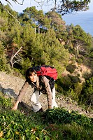 Woman hike