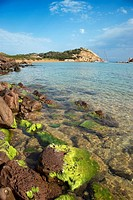 Cala Pregonda, Minorca, Balearic Islands, Spain