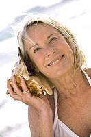 Woman shell