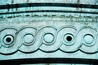 Details of carving on a structure, Athens, Greece
