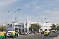 Vehicles on the road, New Delhi, India