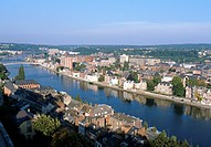 Belgium _ Wallonie _ Namur _ La Meuse