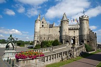 Belgium _ Flanders _ Antwerp _ The Steen _ Castle _ National Museum of Navigation