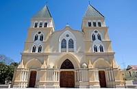 Dominican Republic _ Centre _ The Cibao _ Santiago _ The old center _ Cathedral of Santiago Apostol