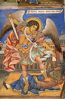 Bulgaria _ South West _ Rila Monastery _ UNESCO World Heritage Site _ Murals