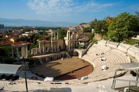 Bulgaria _ North_West Region _ Rhodope Mountains _ Plovdiv _ Old City _ Roman Theatre