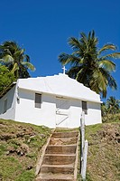 Dominican Republic _ North Coast _ Samana Peninsula _ Los Cacaos _ Church