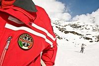 maestro di sci, cervinia, valle d´aosta, italia