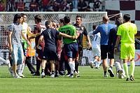 rubens rubinho and matteo sereni, torino 2009, serie a football championship 2008_2009, torino_genoa