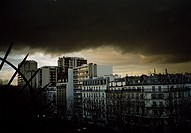 City skyline, Paris, France