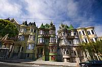 Old Victorian houses, San Francisco, USA