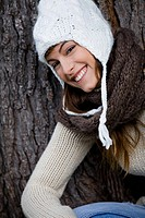 Woman winter cap