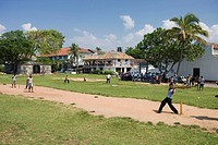 Cricket match, Galle Fort, Sri Lanka