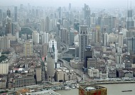 Cityscape, Shanghai, China