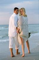 Weds walk beach