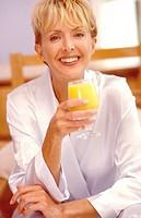 Woman juice.