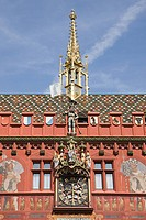 Basel town hall switzerland