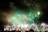 Fireworks at New Year´s Eve, Funchal, Madeira, Portugal
