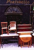 Ireland, Furniture outside of a shop