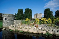 Kilkea Castle, Co Kildare, Ireland, 12th Century castle