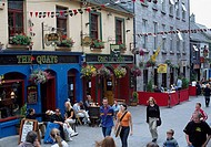 Shop Street, Galway City, Ireland, Shop Street during the Arts Festival