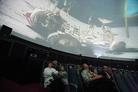 Zeiss projection planetarium with full dome projection, Jena, Thuringia, Germany